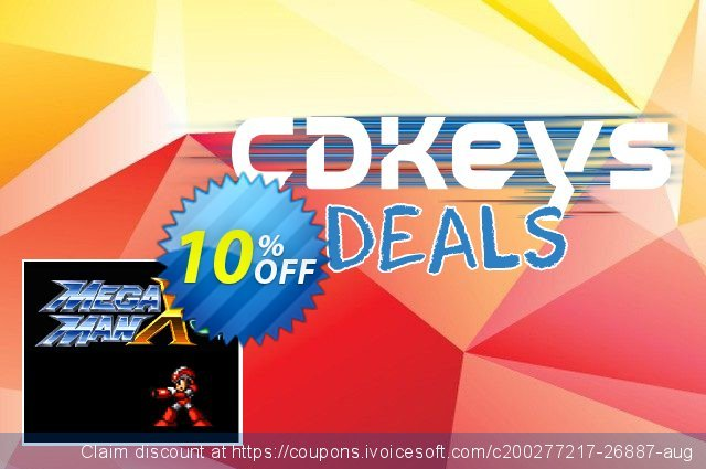 Mega Man X3 3DS - Game Code (ENG) discount 10% OFF, 2021 World Day of Music offering sales. Mega Man X3 3DS - Game Code (ENG) Deal
