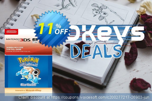 Pokemon Blue Edition (UK) 3DS discount 11% OFF, 2020 Thanksgiving Day discounts