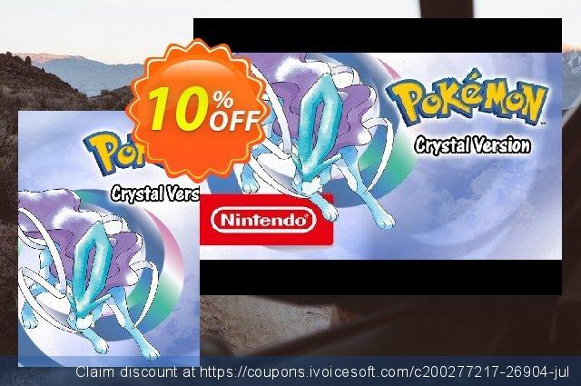 Pokémon Crystal Version 3DS  신기한   세일  스크린 샷
