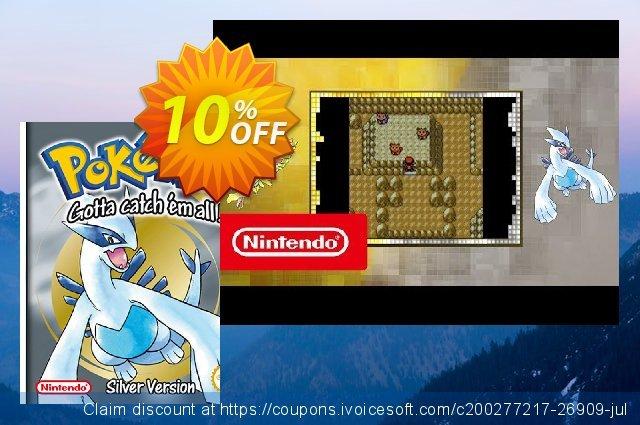 Pokémon Silver Version 3DS  멋있어요   매상  스크린 샷
