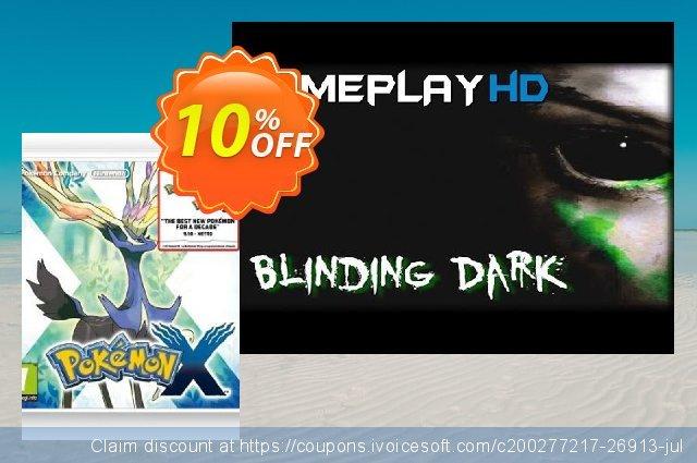 Pokémon X 3DS - Game Code 超级的 扣头 软件截图