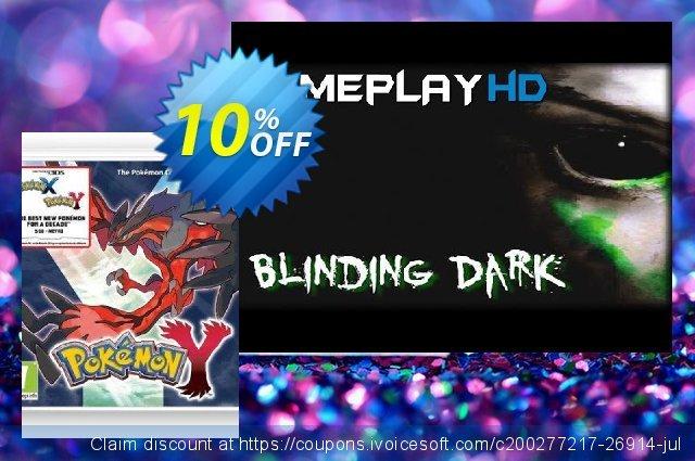 Pokémon Y 3DS - Game Code  위대하   가격을 제시하다  스크린 샷