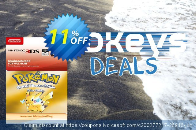 Pokemon Yellow Edition (UK) 3DS Sonderangebote Sale Aktionen Bildschirmfoto