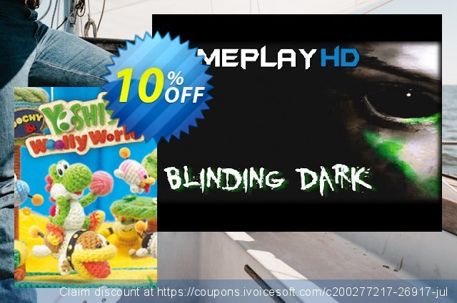 Poochy and Yoshi´s Woolly World 3DS - Game Code  놀라운   촉진  스크린 샷