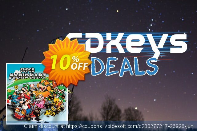 Super Mario Kart 3DS - Game Code (ENG) discount 10% OFF, 2020 Christmas Day offering sales