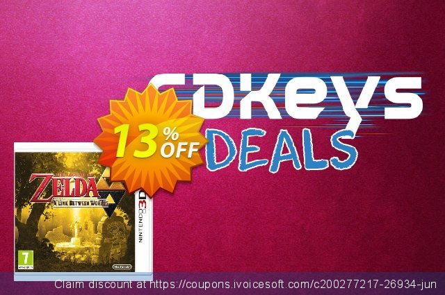 The Legend of Zelda A Link between Worlds 3DS - Game Code discount 13% OFF, 2020 Black Friday offering sales