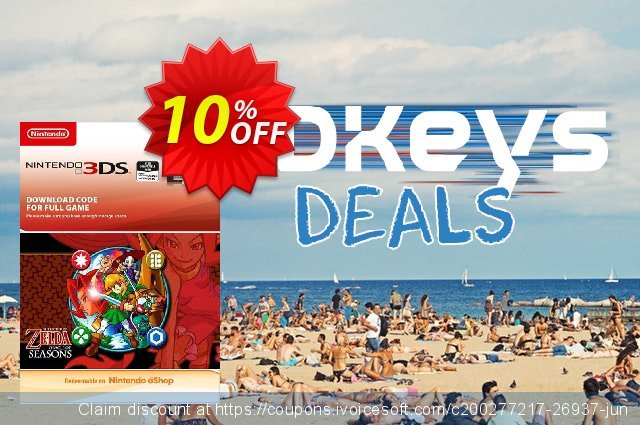 The Legend of Zelda: Oracle of Seasons 3DS discount 10% OFF, 2020 Christmas Day offering sales