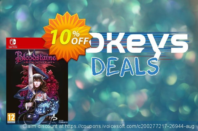 Bloodstained: Ritual of the Night Switch (EU) discount 10% OFF, 2020 Christmas & New Year offer