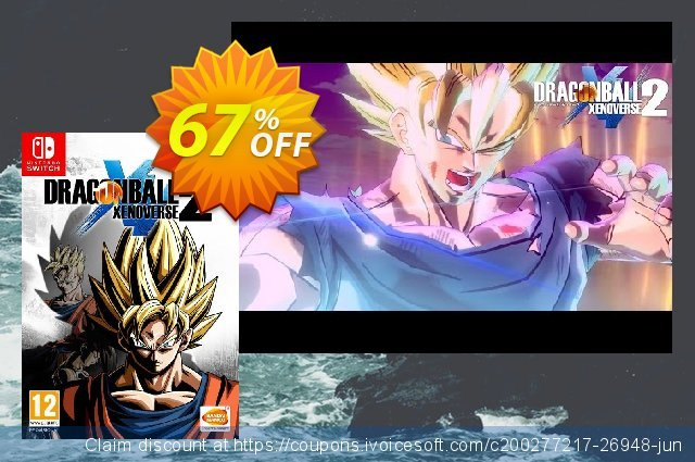 Dragon Ball Xenoverse 2 Switch (EU) discount 55% OFF, 2020 Thanksgiving Day offering sales