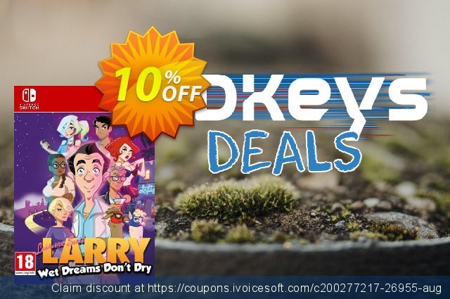 Leisure Suit Larry - Wet Dreams Don't Dry Switch (EU) discount 10% OFF, 2020 Black Friday offering sales