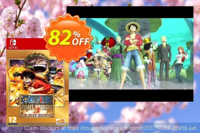 One Piece Pirate Warriors 3 - Deluxe Edition Switch (EU)  대단하   제공  스크린 샷