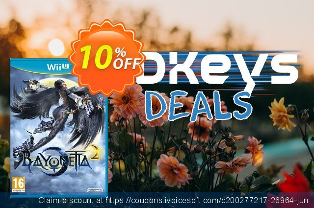 Bayonetta 2 Nintendo Wii U - Game Code discount 10% OFF, 2020 Black Friday offer