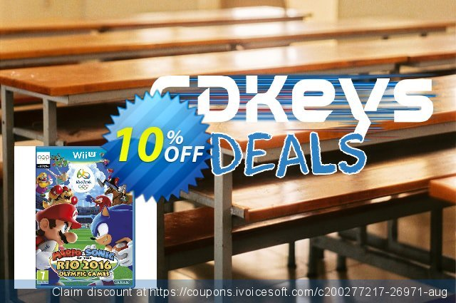 Mario and Sonic at the Rio 2016 Olympic Games 2016 Wii U - Game Code discount 10% OFF, 2020 Thanksgiving offering sales