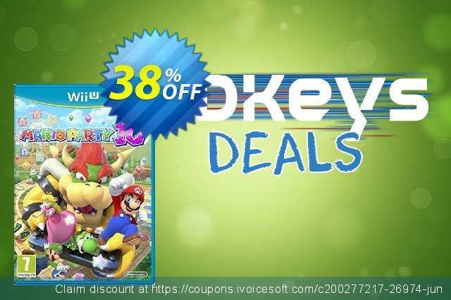 Mario Party 10 Nintendo Wii U - Game Code discount 38% OFF, 2020 Thanksgiving offering sales