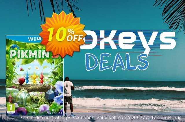 Pikmin 3 Nintendo Wii U - Game Code discount 10% OFF, 2020 End year offering discount