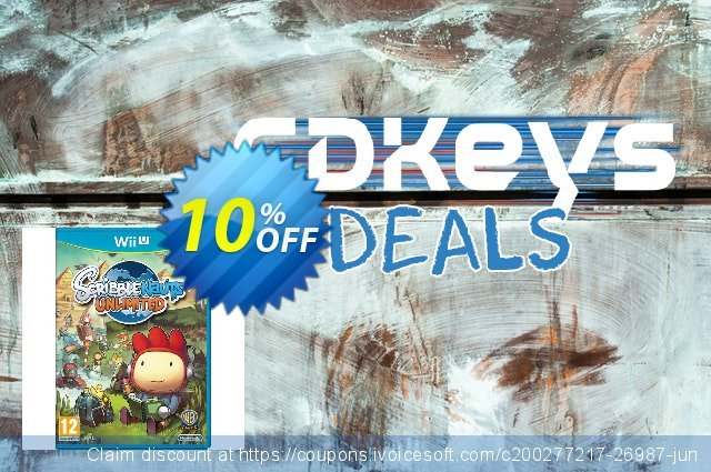 Scribblenauts Wii U - Game Code discount 10% OFF, 2020 Thanksgiving Day offering deals