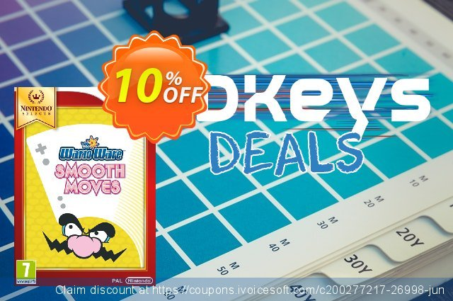 WarioWare Smooth Moves Wii U - Game Code discount 10% OFF, 2020 Christmas & New Year promotions