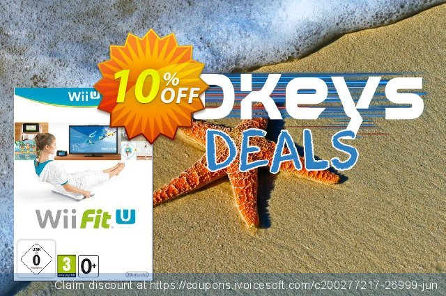 Wii Fit U Wii U - Game Code discount 10% OFF, 2020 Thanksgiving Day promotions