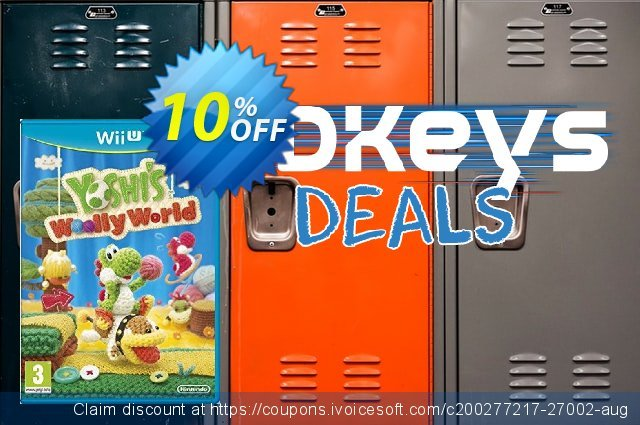Yoshi's Woolly World Wii U - Game Code discount 10% OFF, 2020 Halloween deals