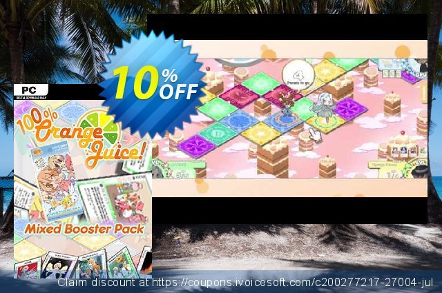 100% Orange Juice Mixed Booster Pack PC discount 10% OFF, 2020 Thanksgiving offering discount