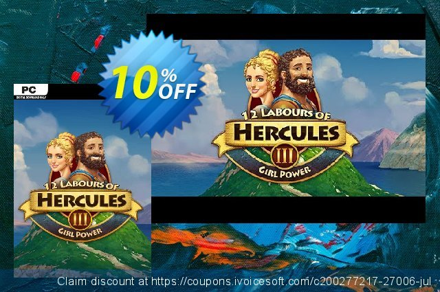 12 Labours of Hercules III Girl Power PC  대단하   매상  스크린 샷