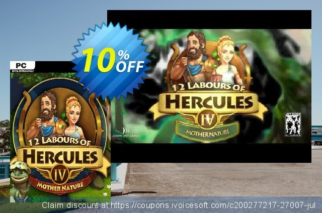 12 Labours of Hercules IV Mother Nature (Platinum Edition) PC  대단하   매상  스크린 샷