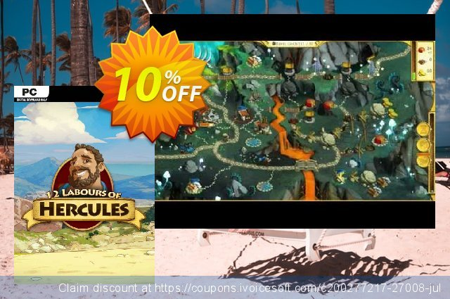 12 Labours of Hercules PC discount 10% OFF, 2020 Thanksgiving Day promo