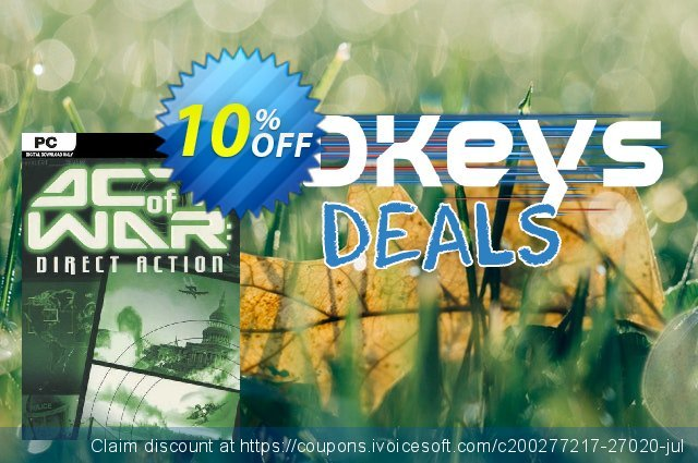 Act of War Direct Action PC discount 10% OFF, 2020 Thanksgiving Day deals