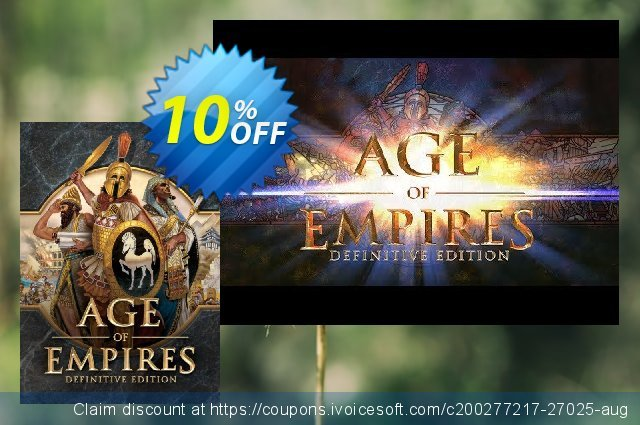 Age of Empires: Definitive Edition PC discount 10% OFF, 2020 Thanksgiving offering deals