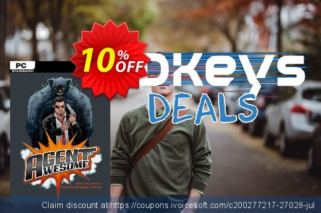 Agent Awesome PC discount 10% OFF, 2020 Thanksgiving offering sales