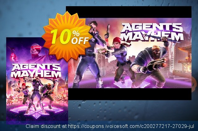 Agents of Mayhem PC discount 10% OFF, 2020 Thanksgiving Day offering sales