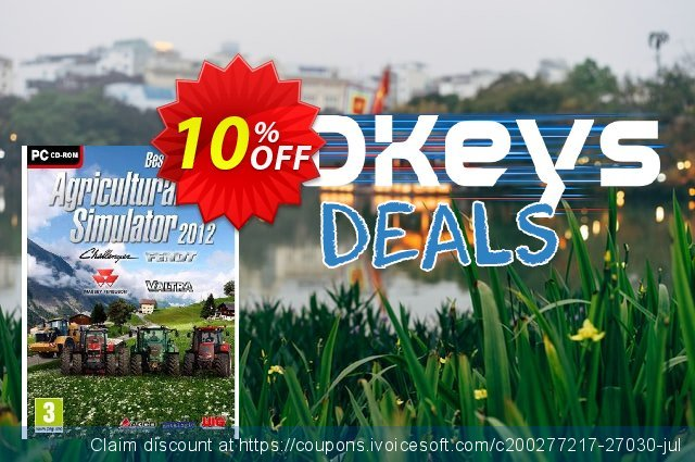 Agricultural Simulator 2012 (PC) discount 10% OFF, 2020 Black Friday offering sales