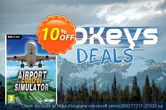 Airport Control Simulator (PC) discount 10% OFF, 2020 Thanksgiving Day offering sales