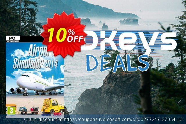 Airport Simulator 2014 PC discount 10% OFF, 2020 Thanksgiving offering sales