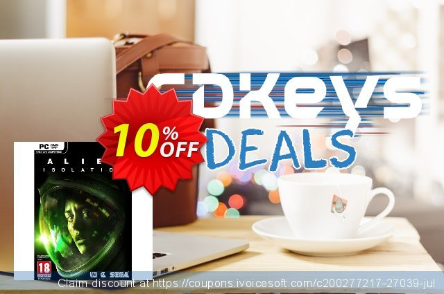 Alien: Isolation PC discount 10% OFF, 2020 Black Friday deals