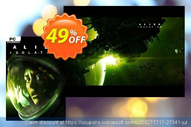 Alien Isolation The Collection PC discount 71% OFF, 2020 Thanksgiving Day discount