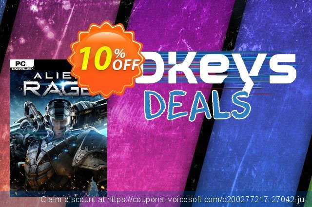 Alien Rage Unlimited PC discount 10% OFF, 2020 Black Friday offering discount