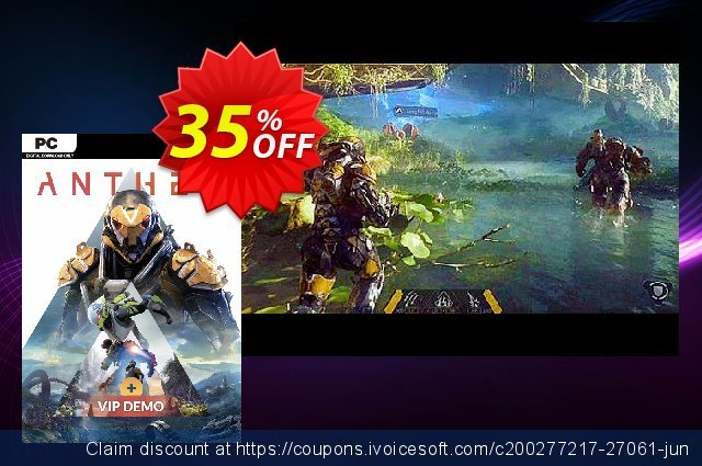 Anthem PC + VIP Demo discount 35% OFF, 2020 Halloween discount