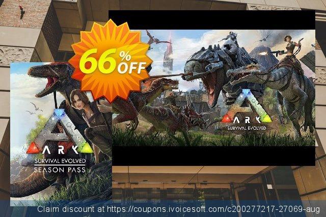 ARK Survival Evolved Season Pass PC discount 66% OFF, 2020 Black Friday offering sales