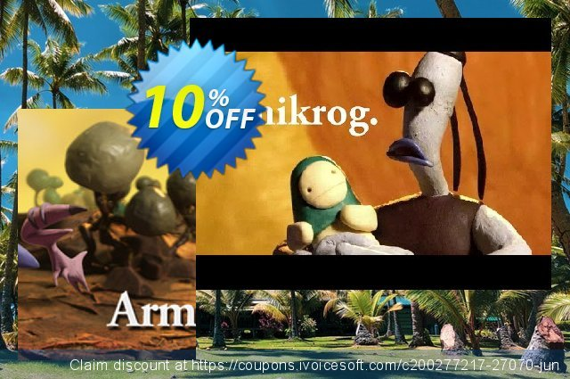 Armikrog PC discount 10% OFF, 2020 Halloween offering sales