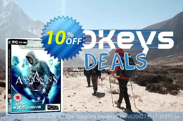 Assassin's Creed - Directors Cut Edition (PC) discount 10% OFF, 2020 Thanksgiving offering sales