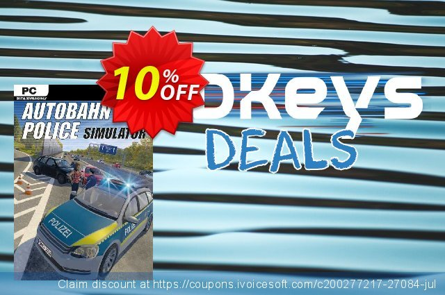 Autobahn Police Simulator PC discount 10% OFF, 2020 Black Friday promo