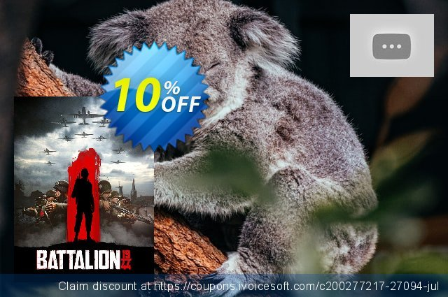 Battalion 1944 PC discount 10% OFF, 2020 New Year's eve sales