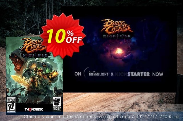 Battle Chasers: Nightwar PC discount 10% OFF, 2020 Thanksgiving Day sales