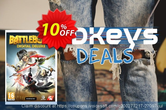 Battleborn Deluxe Edition PC discount 10% OFF, 2020 Christmas & New Year discount