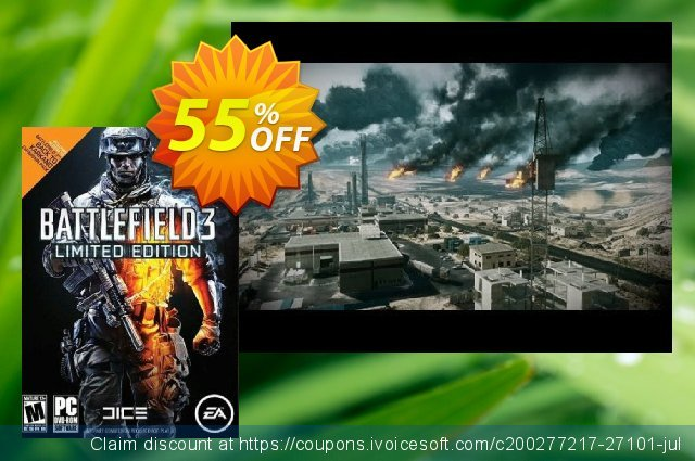 Battlefield 3 Limited Edition PC discount 70% OFF, 2020 End year promo sales