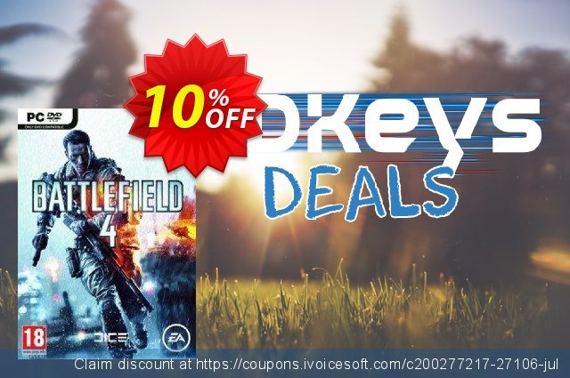 Battlefield 4 - Limited Edition (PC) discount 10% OFF, 2020 Thanksgiving offering sales