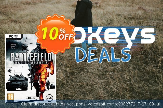 Battlefield: Bad Company 2 (PC) discount 10% OFF, 2020 Thanksgiving offering sales