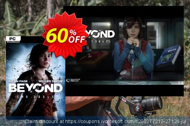 Beyond: Two Souls PC discount 60% OFF, 2020 Thanksgiving offering sales