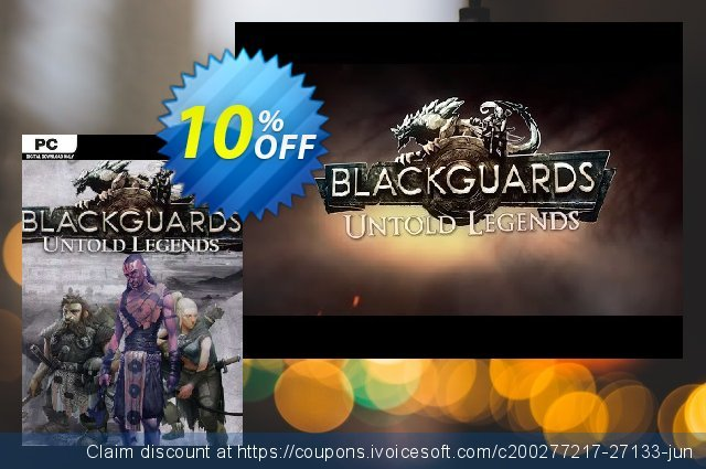 Blackguards Untold Legends PC discount 10% OFF, 2020 Thanksgiving sales